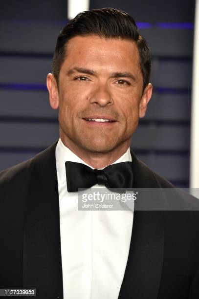 Mark Consuelos attends the 2019 Vanity Fair Oscar Party hosted by Radhika Jones at Wallis Annenberg Center for the Performing Arts on February 24...