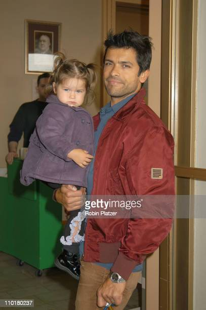 Mark Consuelos daughter Lola during A Year with Frog Toad Opens on Broadway at the cort Theatre in New York New York United States