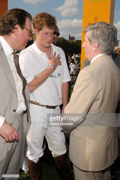 Mark Cornell Prince Harry and Larry Boland attend VEUVE CLICQUOT Manhattan Polo Classic Featuring PRINCE HARRY and NACHO FIGUERAS Benefiting American...