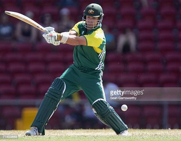Mark Cosgrove of Australia A in action during the Top End Series Twenty20 match between Australia A and New Zealand A at Marrara Stadium July 9, 2006...