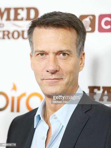 Mark Crumpacker arrives at the Chipotle world premiere of original comedy web series 'Farmed And Dangerous' held at DGA Theater on February 11 2014...