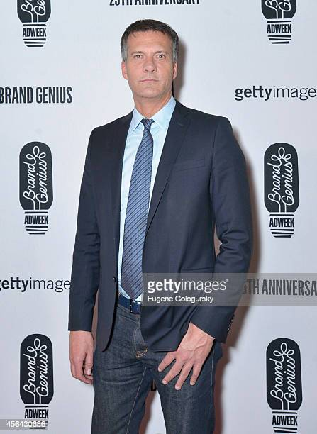 Mark Crumpacker attends the 25th Anniversary Adweek Brand Genius Gala at Cipriani 25 Broadway on September 30 2014 in New York City