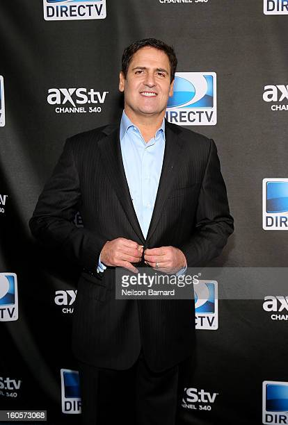 Mark Cuban attends DIRECTV Super Saturday Night Featuring Special Guest Justin Timberlake CoHosted By Mark Cuban's AXS TV on February 2 2013 in New...