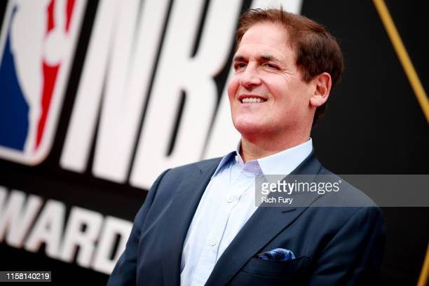 Mark Cuban attends the 2019 NBA Awards at Barker Hangar on June 24 2019 in Santa Monica California