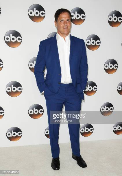 Mark Cuban attends the Disney ABC Television Group TCA summer press tour at The Beverly Hilton Hotel on August 6 2017 in Beverly Hills California