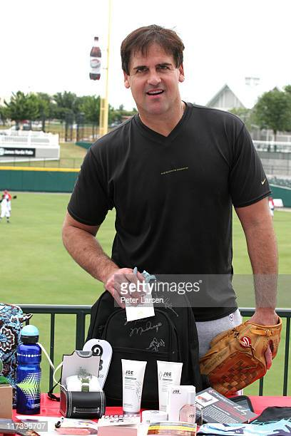 Mark Cuban during Klein Creative Communications Provides Gift Bags at the 2006 Reebok Heroes Celebrity Baseball Game at Dr Pepper Ballpark in Frisco...