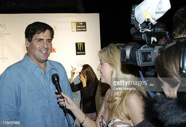Mark Cuban during Premiere Film Music Lounge Tribeca Film Festival at PM Night Club 'One Last Thing' After Party at PM Night Club in New York City...