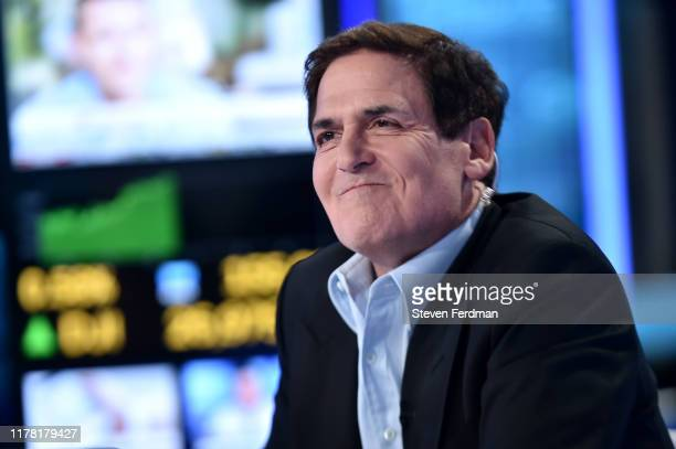 """Mark Cuban visits """"Cavuto: Coast To Coast"""" hosted by Neil Cavuto at Fox Business Network Studios on September 30, 2019 in New York City."""