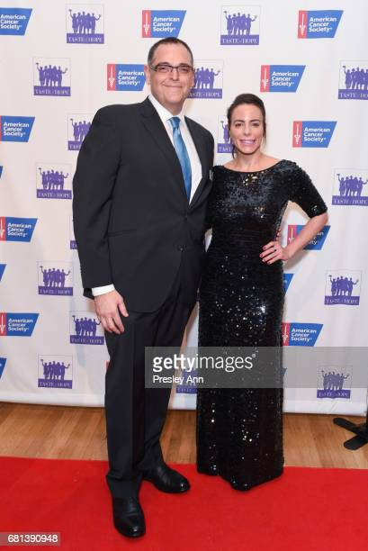 Mark D Friedman and Miri Torres attend American Cancer Society Taste Of Hope 12th Annual Event on May 9 2017 in New York City