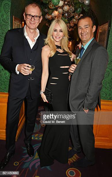 Mark Daeche Amanda Cronin and Jeremy Morris attend a reception and fashion show at the David Morris and Agent Provocateur party hosted by Jeremy...