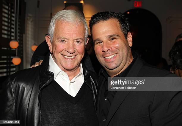 Mark Damon CEO and Chairman of Foresight Unlimited and producer Randall Emmett attend the 15th Anniversary Of Emett/Furla Films during the 2013...