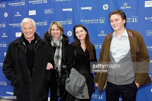 Mark Damon Maggie Damon Tamara Stuparich de la Barra and guest attend the Flypaper Premiere at the Eccles Center Theatre during the 2011 Sundance...