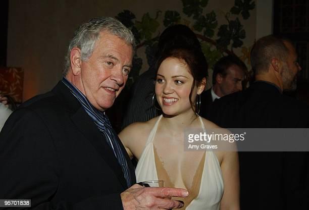 Mark Damon producer and Erika Christensen