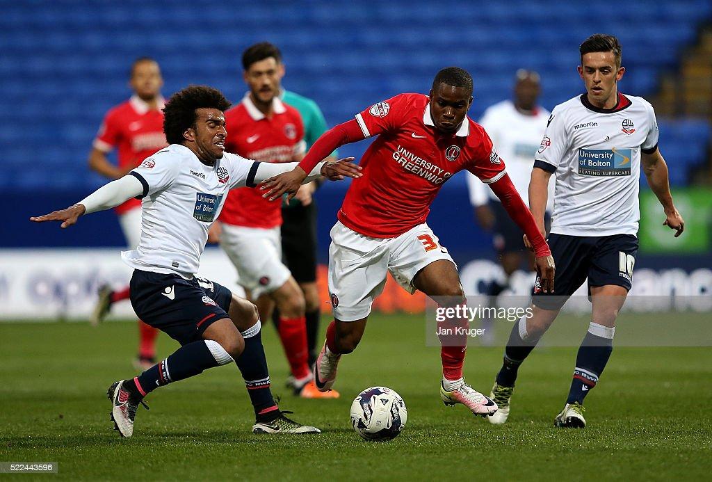 Bolton Wanderers v Charlton Athletic - Sky Bet Championship : News Photo