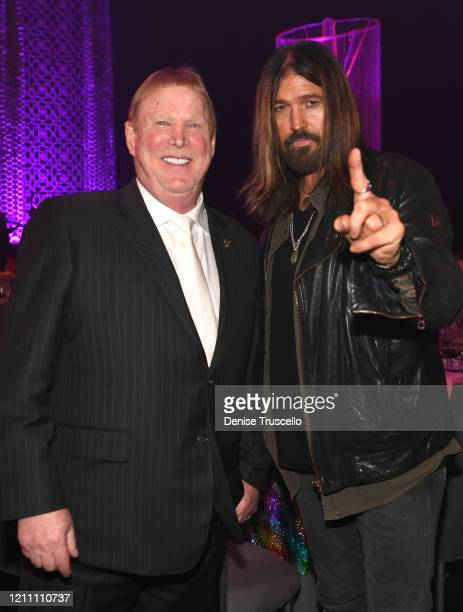 Mark Davis and Billy Ray Cyrus attend the 24th annual Keep Memory Alive 'Power of Love Gala' benefit for the Cleveland Clinic Lou Ruvo Center for...