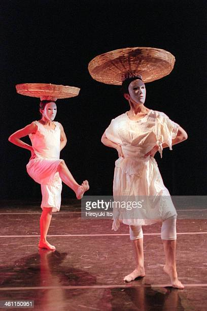 """Mark DeGamo and Dancers performing at Tribeca Performing Arts Center on Wednesday, December 6, 2000.This image:Scene from """"Bitter Grounds: A Portrait..."""
