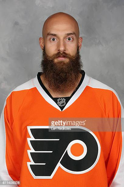 Mark Dekanich of the Philadelphia Flyers poses for his official headshot for the 20162017 season on September 22 2016 at the Virtua Flyers Skate Zone...