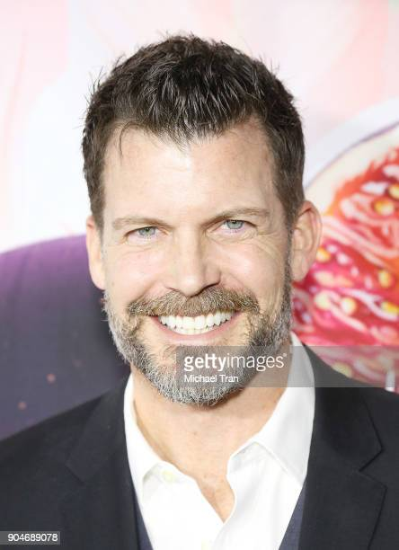 Mark Deklin arrives to the Hallmark Channel and Hallmark Movies and Mysteries Winter 2018 TCA Press Tour held at Tournament House on January 13 2018...