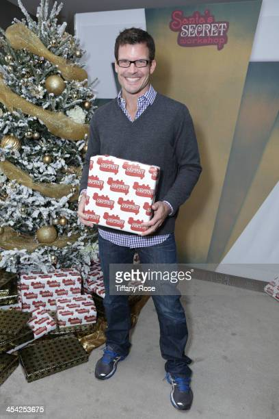 Mark Deklin attends the 3rd Annual Santa's Secret Workshop Benefiting LA Family Housing at Andaz Hotel on December 7 2013 in Los Angeles California