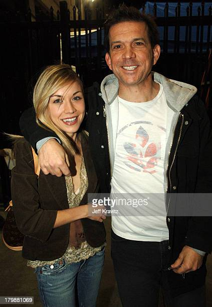 Mark Didia and guest during Comedy Central's Last Laugh '05 Arrivals at Orpheum Theater in Los Angeles California United States