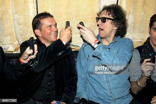 Mark DiDia and Mick Rock attend JOHN VARVATOS STAR USA host Free The Noise party at John Varvatos 315 Bowery on September 15 2009 in New York City