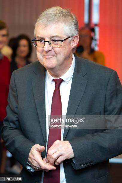 Mark Drakeford at the Principality Stadium on December 06 2018 in Cardiff Wales Mark Drakeford has won a leadership contest against Vaughan Gething...