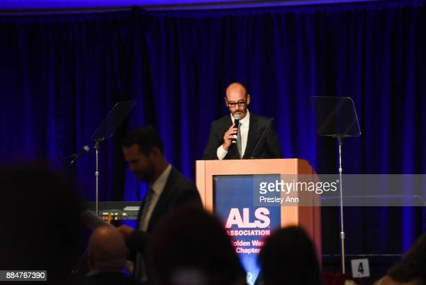Mark Drilling attends ALS Golden West Chapter Hosts Champions For Care And A Cure at The Fairmont Miramar Hotel Bungalows on December 2 2017 in Santa...