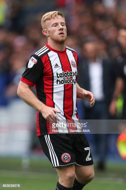 Mark Duffy of Sheffield United during the Sky Bet Championship match between Sheffield Wednesday and Sheffield United at Hillsborough on September 23...