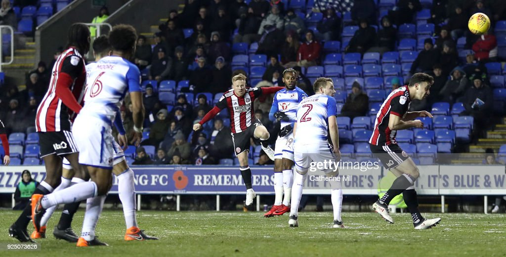Reading v Sheffield United - Sky Bet Championship : News Photo