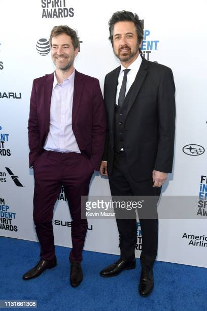 Mark Duplass and Ray Romano attend the 2019 Film Independent Spirit Awards on February 23 2019 in Santa Monica California