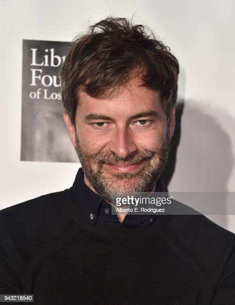 Mark Duplass attends the 10th Annual Young Literati Toast at Hudson Loft on April 7 2018 in Los Angeles California