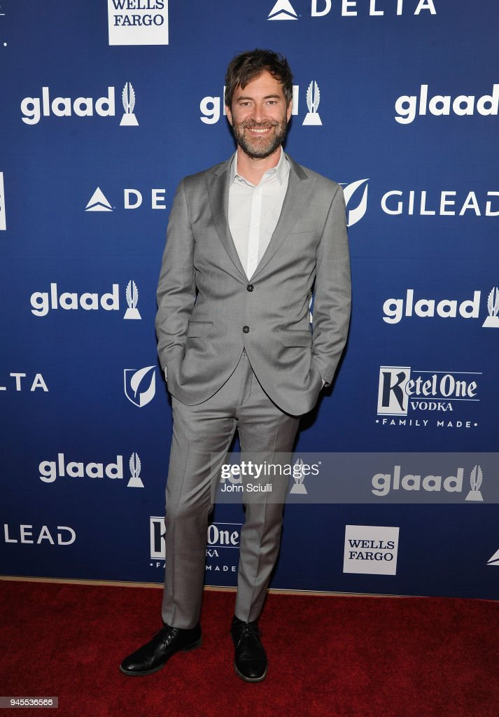 Mark Duplass celebrates achievements in LGBTQ community at the 29th Annual GLAAD Media Awards Los Angeles, in partnership with LGBTQ ally, Ketel One Family-Made Vodka at The Beverly Hilton Hotel on April 12, 2018 in Beverly Hills, California.