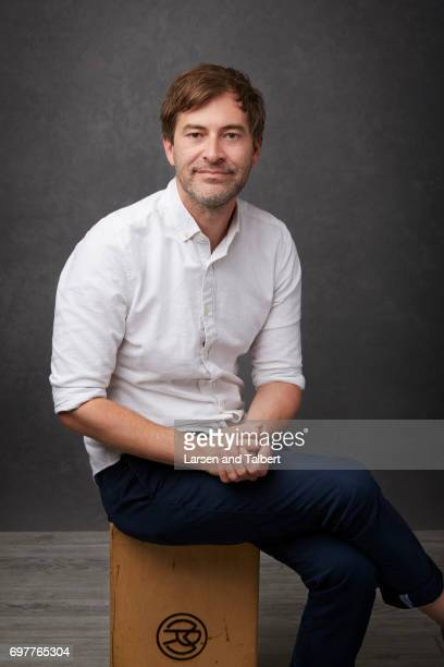 Mark Duplass is photographed for Entertainment Weekly Magazine on June 11 2017 in Austin Texas