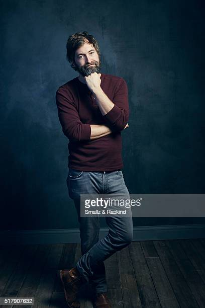 Mark Duplass poses for a portrait in the Getty Images SXSW Portrait Studio Powered By Samsung on March 13 2016 in Austin Texas