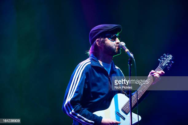 Mark 'E' Everett of Eels performs at Brixton Academy on March 21 2013 in London England