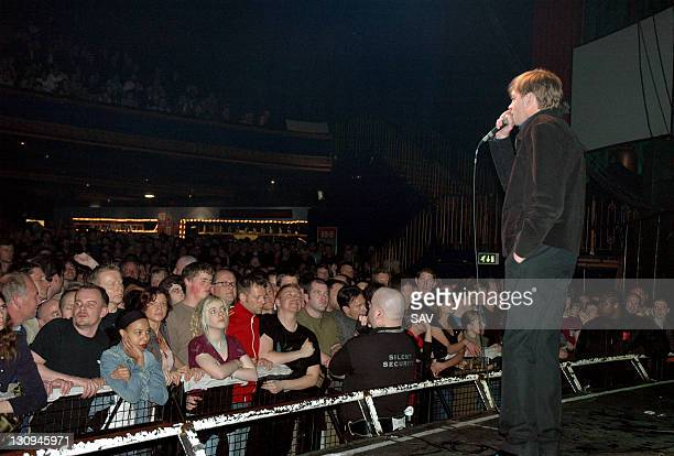 Mark E Smith of The Fall during The Fall in Concert at Kentish Town Forum May 20 2005 at The Forum in London Great Britain