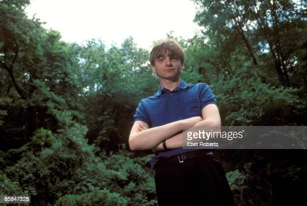 Mark E Smith of The Fall in Central Park in New York City on May 18 1990
