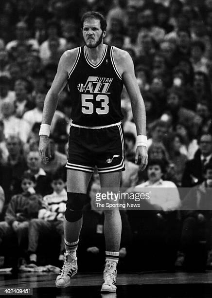 Mark Eaton of the Utah Jazz circa 1991