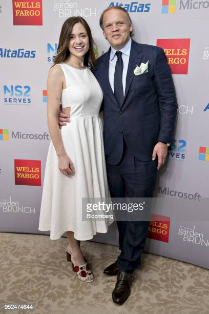 Mark Ein the founder and chief executive officer of Venturehouse Group right and wife Sally Ein attend the 25th Annual White House Correspondents...