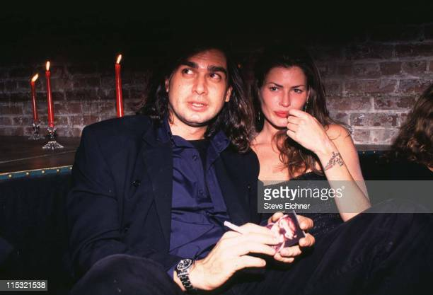 Mark Eisen and Carre Otis during Mark Eisen Carrie Otis at Tunnel 1994 at Tunnel in New York City New York United States