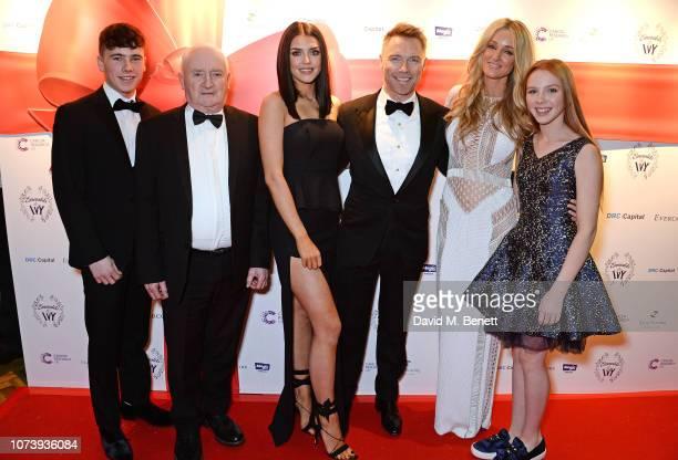 Mark Elebert Gerry Keating Missy Keating Ronan Keating Storm Keating and Ally Keating attend the 12th annual Emeralds Ivy Ball in aid of Cancer...