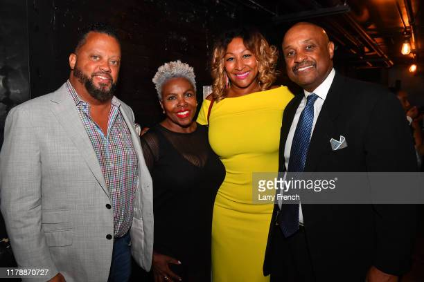 Mark Ellington, Dee Taylor-Jolley, Susan Smallwood of Grandiosity Events and Dr. Willie Jolley are seen at Jamie Foster Brown's Sister2Sister DC...
