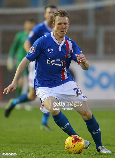 Mark Ellis of Carlisle United during the Sky Bet League Two match between Carlisle United and York City at Brunton Park on January 23 2016 in...