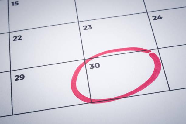 Image result for june 30 2019 circled on calendar