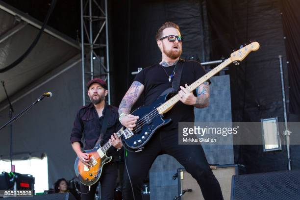 Mark Engles and Ben Flanagan of Black Map perform at Monster Energy Aftershock Festival 2017 at Discovery Park on October 22 2017 in Sacramento...