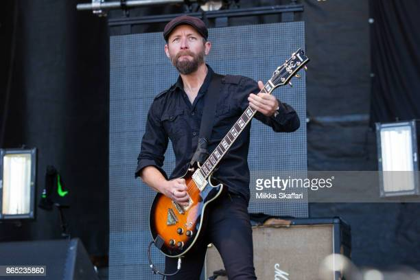 Mark Engles of Black Map performs at Monster Energy Aftershock Festival 2017 at Discovery Park on October 22 2017 in Sacramento California