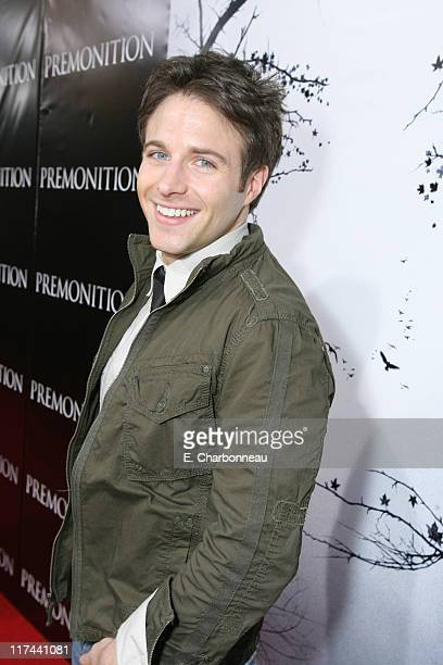Mark Famiglietti during Tri Star Pictures Presents the World Premiere of Premonition at Cinerama Dome in Hollywood California United States