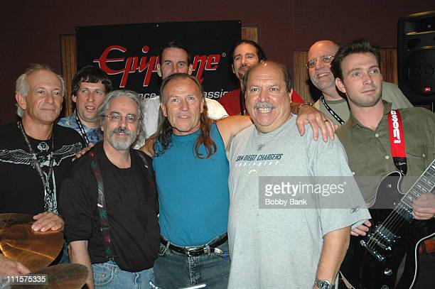 Mark Farner, Bruce Kulick and Hell's Kitchen during Rock N Roll Fantasy Camp Day 4 at Rock N Roll Fantasy Camp in New York City, New York, United...