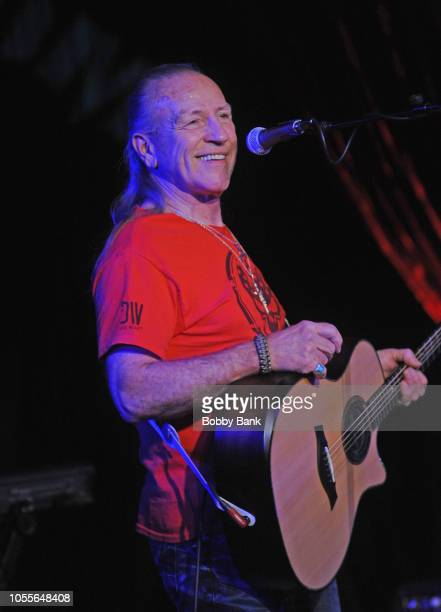Mark Farner performs at The Cutting Room on October 30, 2018 in New York City.
