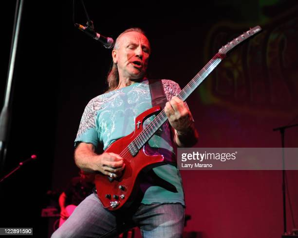 Mark Farner performs during Hippiefest at Seminole Hard Rock Hotel on August 28, 2011 in Hollywood, Florida.